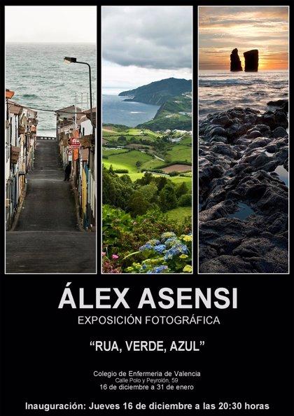 Cultura.- Álex Asensi expone su visión de las Islas Azores con 20 fotografías en el Colegio de Enfermería