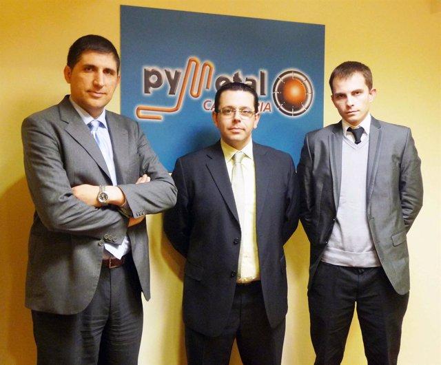 Convenio De Colaboración Entre PYMETAL Y ALX Solutions (Con Foto)A