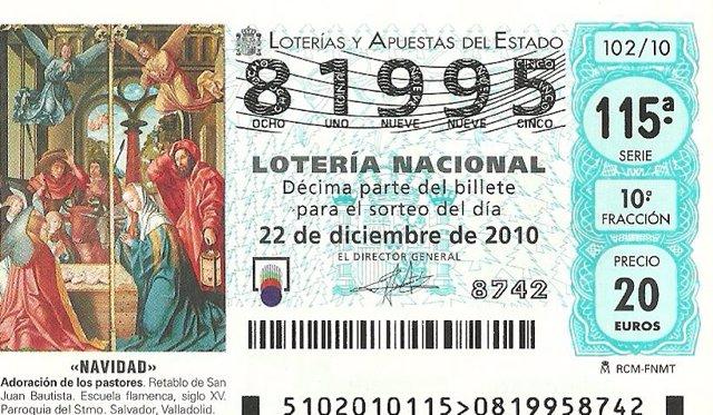 LOTERIA DE NAVIDAD !!!