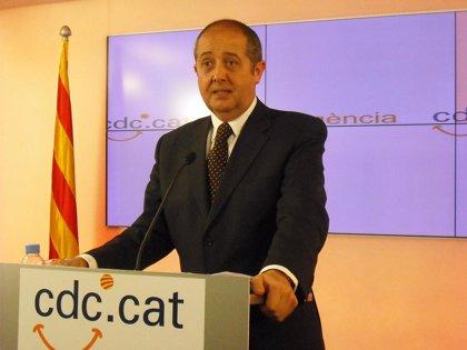 """Puig (CiU) invita a PSC y ERC a superar sus """"crisis"""" porque Catalunya necesita partidos """"fuertes"""""""