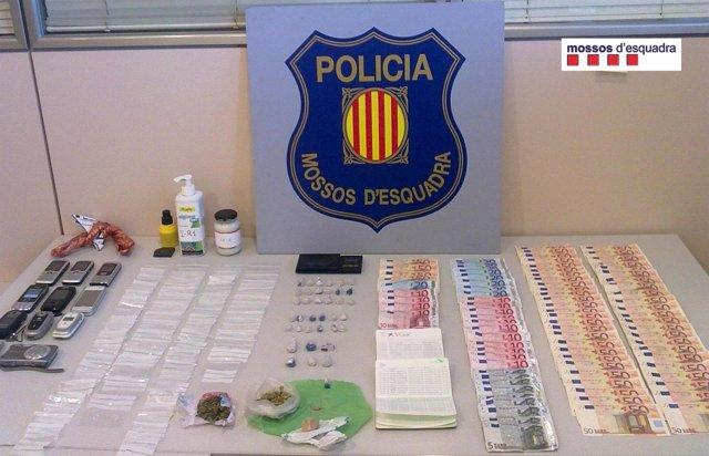 Desmantelado un punto de venta de heroína en El Vendrell (Tarragona)