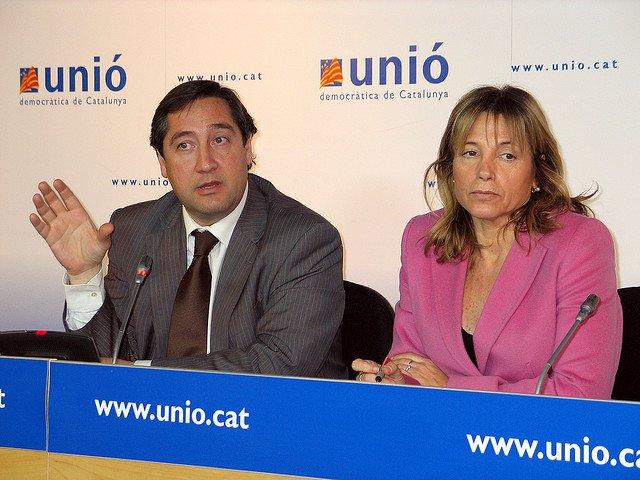 Josep Maria Pelegrí i Joana Ortega.