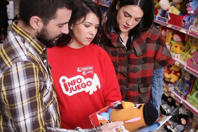 NP INFORMACIÓN: EROSKI OFRECE ASESORÍA GRATUITA SOBRE LOS REGALOS INFANTILES EN