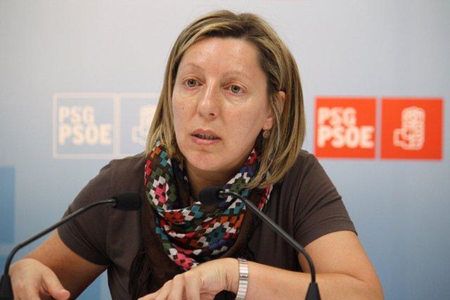 La portavoz de Medio Ambiente del Grupo Socialista, Carmen Gallego