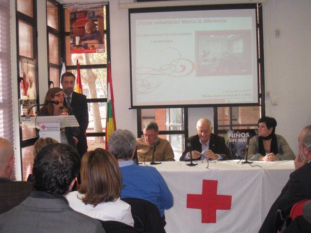Inmaculada Sáenz ha agradecido el reconocimiento de Cruz Roja