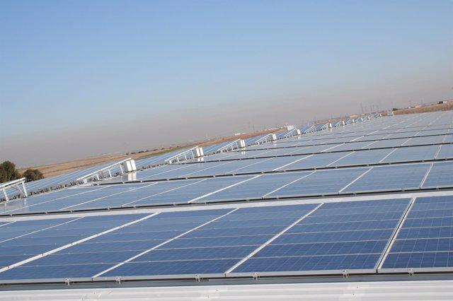 Energía solar-placas solares