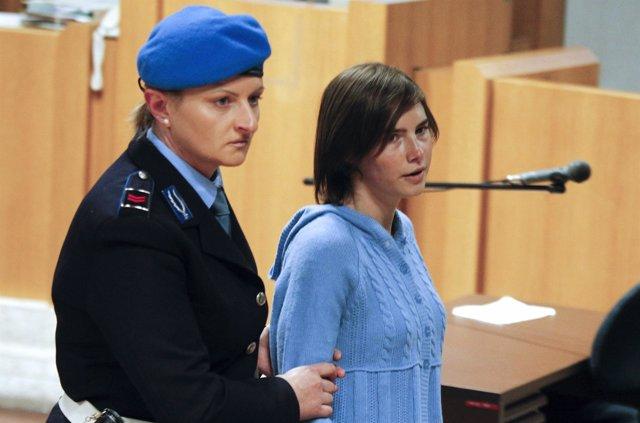 Amanda Knox, jóven estadounidense encarcelada en Italia por asesinato