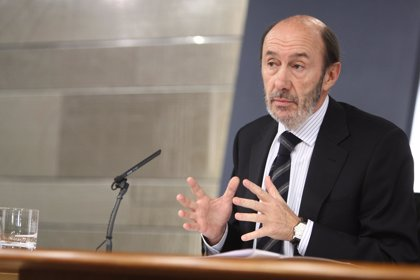 Rubalcaba participa este domingo en la presentación de la candidatura de Alarte a la presidencia de la Generalitat