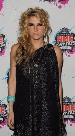 La cantante Kesha