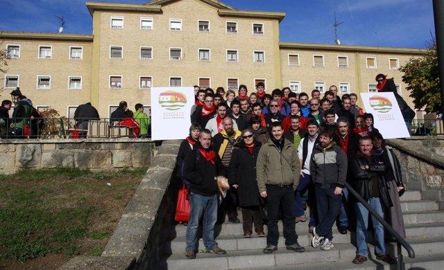 Presentación de la Asocicación vecinal Txantrea Auzo elkartea.
