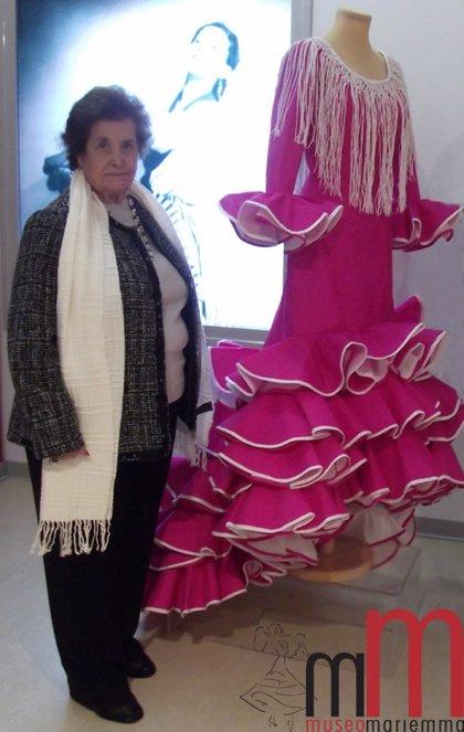 El Museo Mariemma participará en el 45 Concurso de Vestidos de Papel con una creación de la sastra de la bailarina