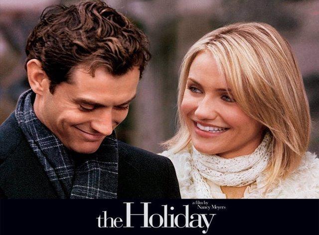 Cartel de la película 'The holiday'