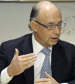 Cristóbal Montoro, coordinador de Economía del PP