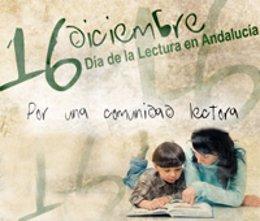 imagen de la campaña de fomento de la lectura de la Consejería de Educación