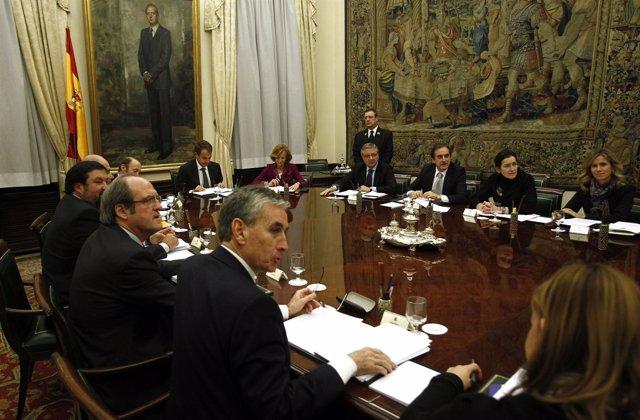 Consejo de ministros extraordinario en el Congreso