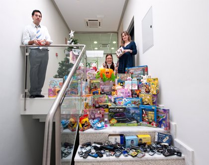 El Grupo GPEX repartirá juguetes entre los menores enfermos de cáncer ingresados en los hospitales del SES