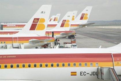 Iberia avisa de retrasos y posibles cancelaciones en sus vuelos entre Madrid y Londres