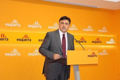 Puigcercós avala que ERC negocie con el partido de Laporta un pacto para las municipales de Barcelona
