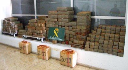 Detenido en Tenerife tras intentar introducir en la isla 1,4 toneladas de hachís