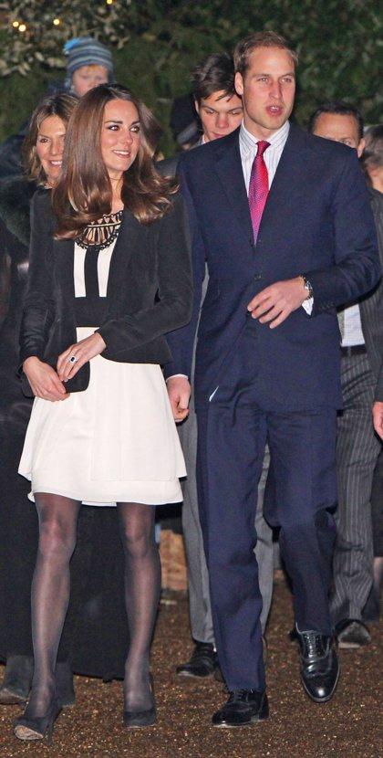 Primer acto en pareja del Príncipe Guillermo y Kate Middleton