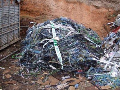 Ocho detenidos y un imputado en una operación contra el robo de cable de cobre en Ciudad Real