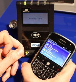 Pago con Blackberry