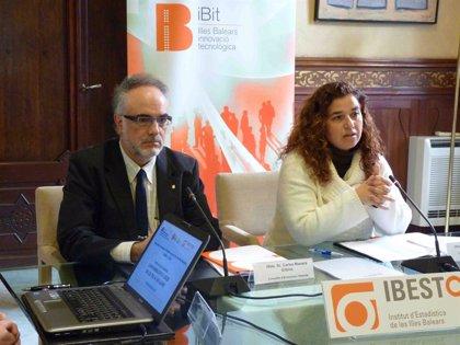 El 64% de los hogares de Baleares dispone de ordenador, aunque sólo el 56% tiene conexión de Internet