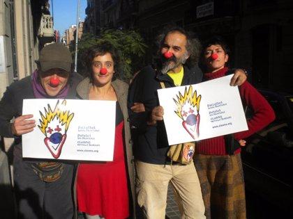 Una delegación de Payasos sin Fronteras viaja a Israel y Palestina por Navidad