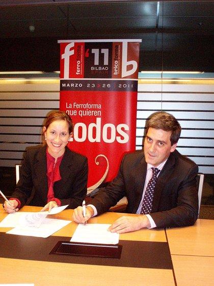 BBK Y BEC firman un acuerdo de colaboración para Ferroforma-Bricoforma con apoyo financiero a los expositores