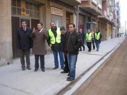 El tramo entre Tenerías y Pío XII del Paseo de la Constitución de Arnedo se abre al tráfico este miércoles