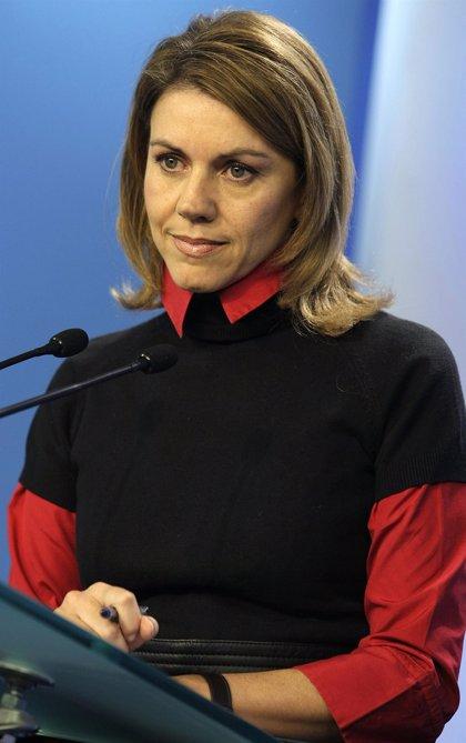 "El PP ve ""inconstitucional"" que se impida a Cospedal cobrar dos sueldos"