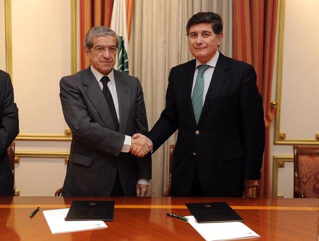 Braulio Medel y Manuel Pérez