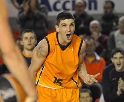 """Baloncesto.- Esteban Batista (Baloncesto Fuenlabrada): """"Pude reivindicarme después de tres partidos bastante malos"""""""