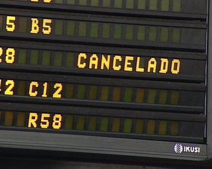 Ascienden a 10 los vuelos cancelados entre Málaga y Sevilla con aeropuertos de Francia y Reino Unido