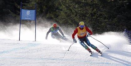 Esquí alpino.- Santacana termina con tres podios la segunda etapa de la Copa de Europa de paralímpicos