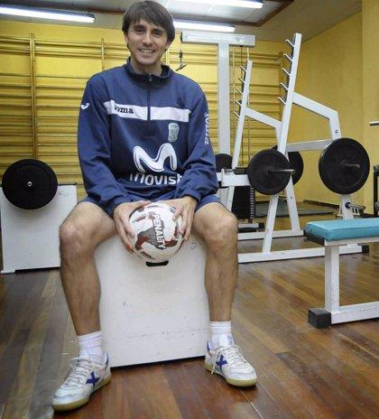 Fútbol sala.- César Muñoz, nuevo jugador del Inter Movistar