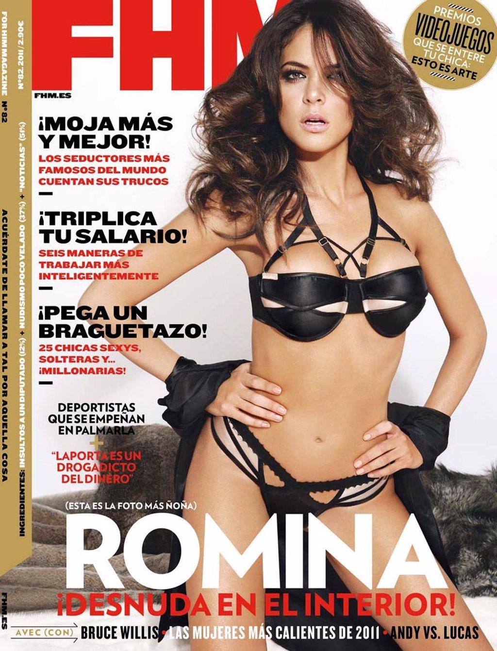 Aida Nizar Desnuda romina belluscio, la reportera más sexy de 'tonterías las