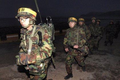 Seúl inicia las mayores maniobras militares de su historia con fuego real