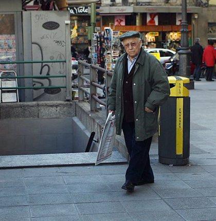 Economía/Laboral.- (Ampliación) La pensión media de jubilación se situó en diciembre en 892,38 euros, un 3,6% más