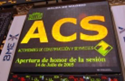 Economía/Empresas.- ACS se asegura el 30% de Hochtief con su OPA