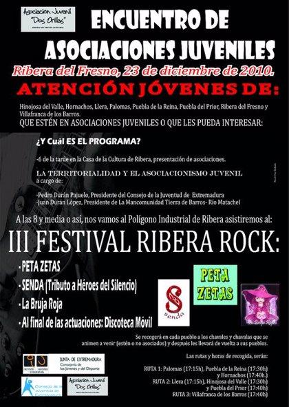 Tierra de Barros-Río Matachel celebra su I Encuentro Juvenil en Ribera del Fresno