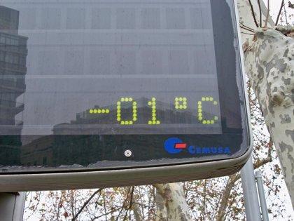 La Comunidad permanecerá mañana en alerta amarilla por riesgo de bajas temperaturas que podrán alcanzar los -6 grados