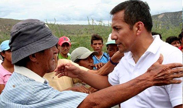 Ollanta Humala, candidato presidenciales Perú 2011
