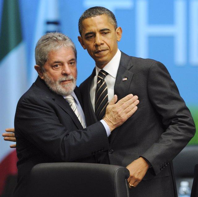 Lula y Obama