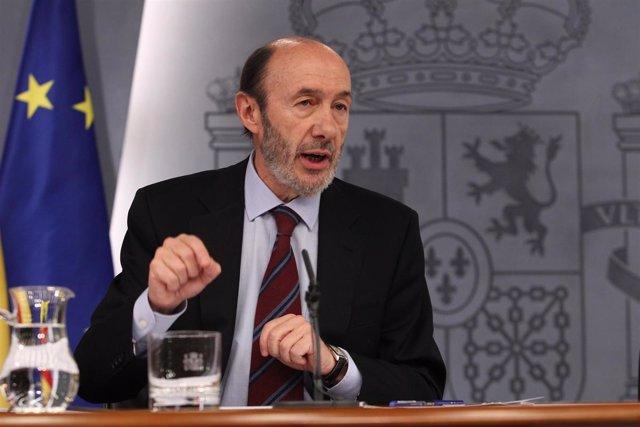 Amp Rubalcaba Pide Que Se Pase De Las Frases Declarativas