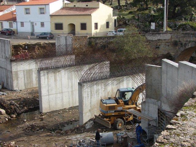 Obras Puente Rivera De Avid