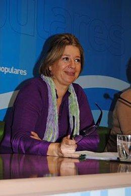 La portavoz del PP en Las Palmas de Gran Canaria, Pepa Luzardo.