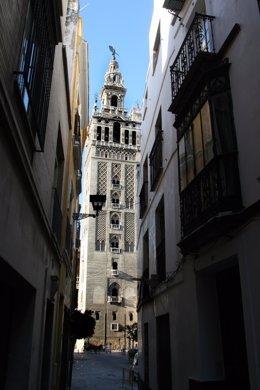 Imagen de la Giralda de Sevilla