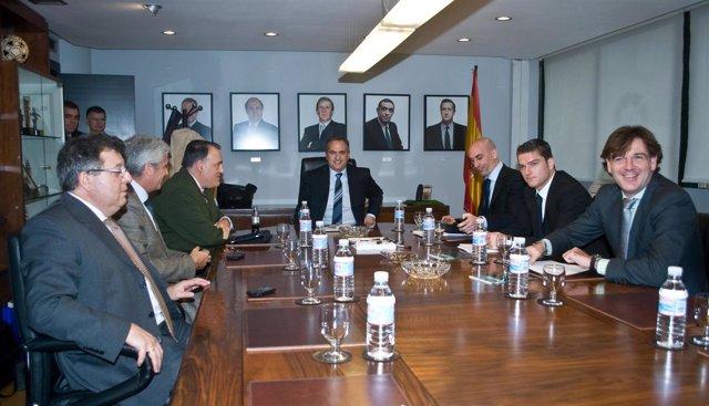 reunion entre AFE y LFP. 21/12/2010