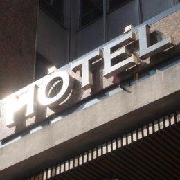 Fachada de hotel
